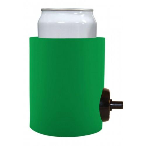Flowzer Shotgun Beer Chug Can Coolie (1 Color Print)