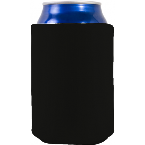Foam Collapsible Can Coolie (Multi-Color Print)