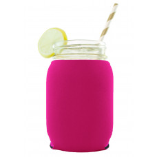 Neoprene Mason Jar (16oz) Coolie (Small Order)