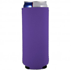 Neoprene Collapsible Slim 12oz Can Coolie (Small Order)